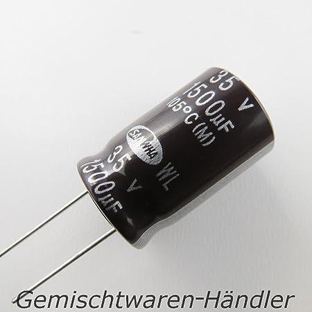 Unbekannt Elektrolytkondensator Kondensator Elko Becher Elektronik