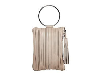 THACKER Nolita Pleated Clutch (Mist) Clutch Handbags