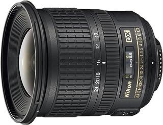 Nikon 999712 - Objetivo para cámara réflex AF-S DX 10-24MMF3.5-4.5G SD2 color negro