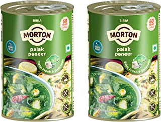 Morton Ready to Eat Palak Paneer, 450g (Pack of 2)