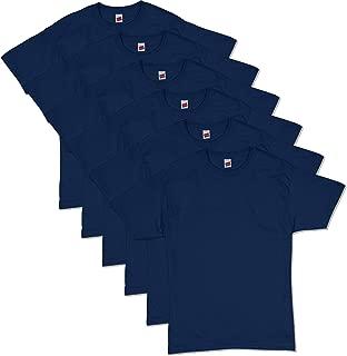 Hanes Men's ComfortSoft Short Sleeve T-Shirt (6 Pack)