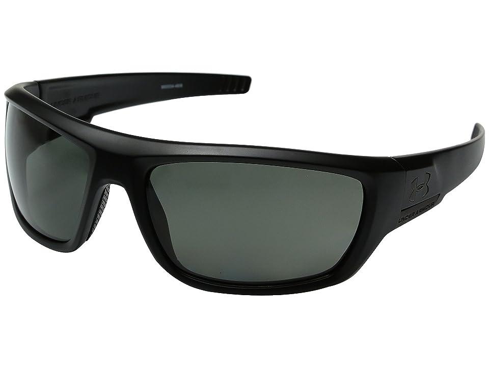 Under Armour Prevail Polarized (Satin Black) Sport Sunglasses