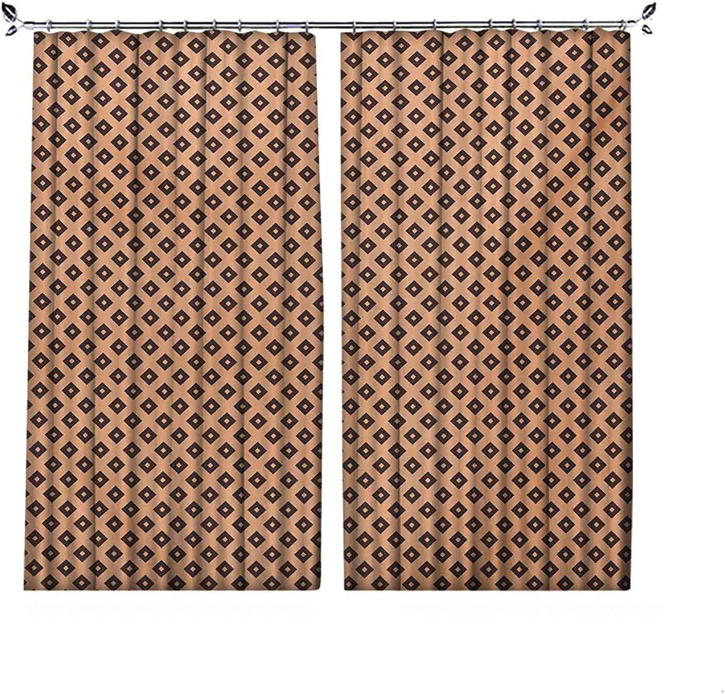 Be super welcome Energy Saving Blackout Geometric Lines Curtain Financial sales sale Pleated Diagonal