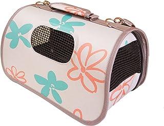 BPS (R) Portador Transportín Bolsa Bolso de Tela para Perro, Gato, Mascotas, Animales,Tamaño:(L,51x26x29cm) (Gris) BPS-2120-5