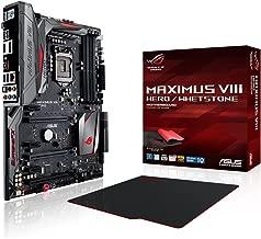 ASUS ROG MAXIMUS VIII HERO/Whetstone LGA1151 DDR4 DP HDMI M.2 U.2 USB 3.1 Z170 ATX with gaming mousepad Motherboards MAXIMUS VIII HERO/WHETSTONE