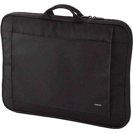 エレコム パソコンケース 15.6インチ (macbook pro 15) 取っ手付 ブラック BM-IB017BK