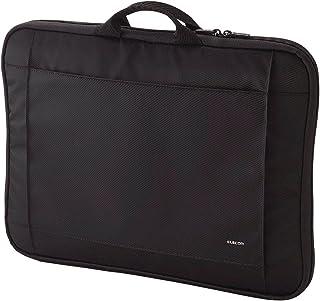 エレコム パソコンケース タブレットケース 15~16.4インチワイド 15.6インチ (macbook pro 15) 取っ手付 ブラック BM-IB017BK ~16.4