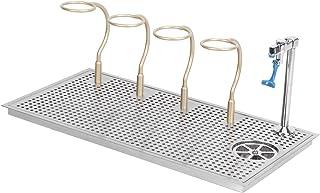 Rinceur de nettoyage de verre, montage intégré avec 4 porte-gobelets Rinçage de verre de barre, commercial pour bars Resta...