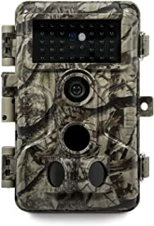 Meidase P20 Trail Camera 18MP 1080P (2020), H.264 HD MP4 Video, 82ft No Glow Night Vision, Fast 0.1s Trigger Time, 82ft Mo...