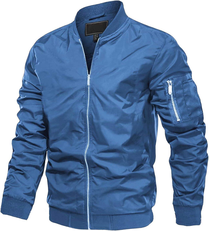 MAGCOMSEN Superlatite Men's Jacket Lightweight Win New sales Windbreaker Bomber