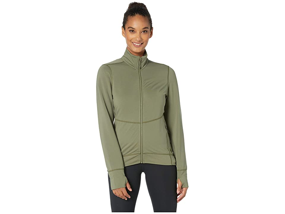 Mountain Hardwear Norse Peaktm Full Zip Jacket (Light Army) Women