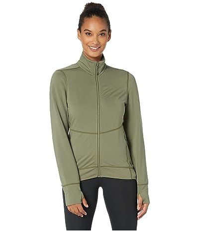 Mountain Hardwear Norse Peaktm Full Zip Jacket (Light Army) Women