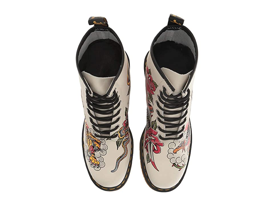 Dr. Martens 1460 Tattoo Chris Lambert (White Backhand/Tattoo USA) Boots