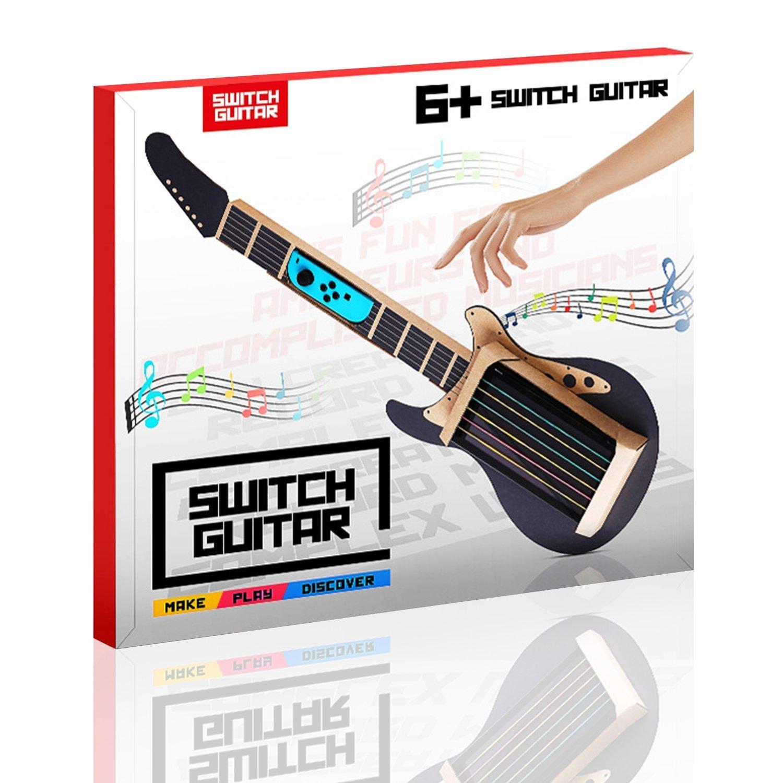 Juguete de cartón Poconic para Nintendo NS Labo Kit cartón ajustable tipo máquina recreativa: Amazon.es: Instrumentos musicales