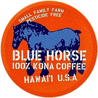 Farm-fresh: 100% Kona Coffee, Single Serve for 2.0 Keurig K-Cup Brewers, 10 Count, Full-City Roast authentic Kona coffee