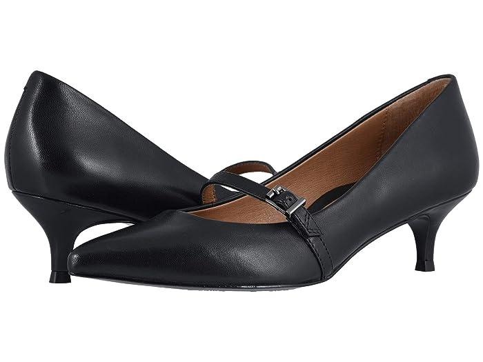 VIONIC  Minnie Leather (Black) Womens Shoes