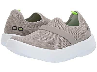 OOFOS Oomg (White/Gray) Women