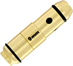 LaserLyte laser trainer 9mm cartridge built in SNAP CAP dry fire training the LASER BULLET is centered in the chamber RUBBER ORINGS great laser training your PISTOL no ammo needed