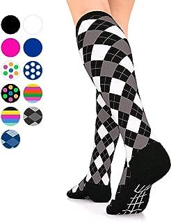 Go2 Compression Socks for Men Women Nurses Runners 16-22 mmHg (Medium) Stockings