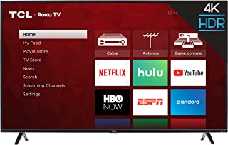 TCL 43S425 43 Inch 4K Ultra HD Smart ROKU LED TV (2018)
