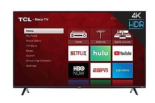 TCL 50 بوصة 4K الذكية LED TV