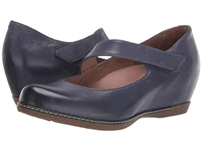 Dansko Lanie (Blue Burnished Nubuck) Women