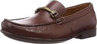حذاء بدون رباط للرجال من كلاركس، قياس 9.5 UK, (بني), 9.5 UK