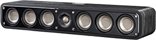 Polk Audio Signature Series S35 Center Channel Speaker (6 Drivers) | Surround Sound | Power Port Technology | Detachable Magnetic Grille, Black