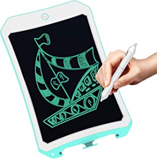 Meet sun 8.5 Inch Electronic Drawing Pads for Kids, Portable Reusable Erasable Writer, Elder Message Board,4-8 Years Old Boys for Digital Handwriting Pad Doodle Board for School(DS-Green)