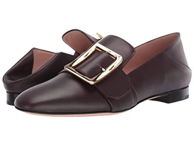 Bally Janelle Flat (Prune) Women