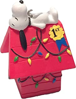 Hallmark Peanuts Snoopy on Doghouse Christmas Ornament 2015