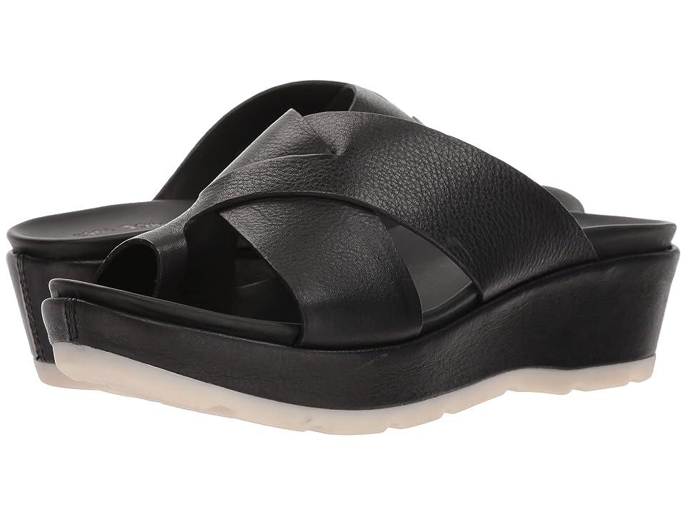 Kork-Ease Baja Sport (Black Full Grain Leather) Women