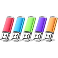 JUANWE 5 Pack 32GB USB Flash Drive USB 2.0 Thumb Drives Jump Drive Memory Stick Pen -...