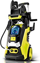 TEANDE Smart Pressure Washer 3800 PSI Electric High Powerful Touch Screen 3 Gear Level with Telescopic Handle, Hose Reel (...
