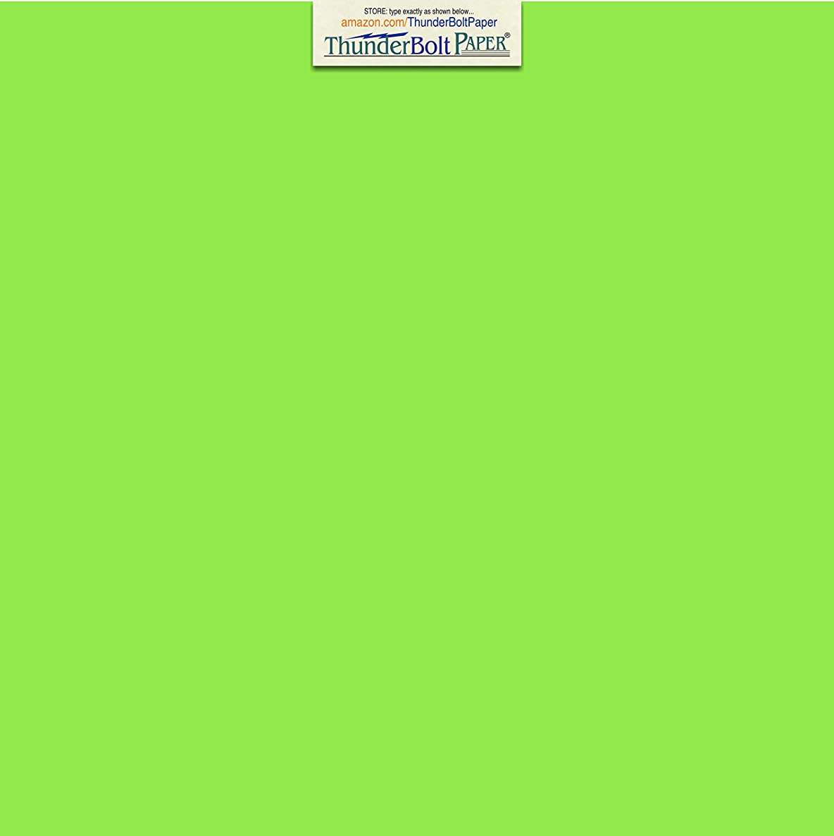 25 Bright Mint Green 65lb Cover Card Paper - 12 X 12 Inches Scrapbook Album Cover Size - 65 lb/Pound Light Weight Cardstock - Quality Printable Smooth Surface for Bright Colorful Results