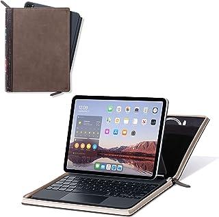 Twelve South BookBook Vol 2 11インチiPad Pro用 | ハードバックレザーカバー 鉛筆/書類/ケーブル収納付き iPad Pro + Apple Pencil用