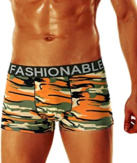 85b8382dc7ff Voberry@@ Men Sexy Camouflage Boxer Shorts Briefs Trunks Underpants Men's  Bikini Underwear
