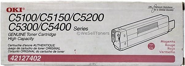 Oki 42127402 OEM Toner - C5100 C5150 C5200 C5300 C5400 C5510 MFP Series High Yield Magenta Toner (5000 Yield) OEM