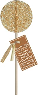 Champagne Bubbles Gourmet Cocktail Hard Candy Lollipop 100% USA Made (12 Count)