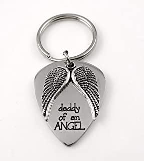Dad Baby Remembrance Keychain, Daddy of an Angel