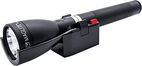 Mag-Lite ML150LRX Rechargeable Flashlight, Matte Black