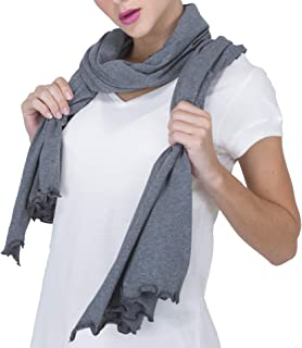 Cottonique Women's Hypoallergenic Shawl made from 100% Organic Cotton