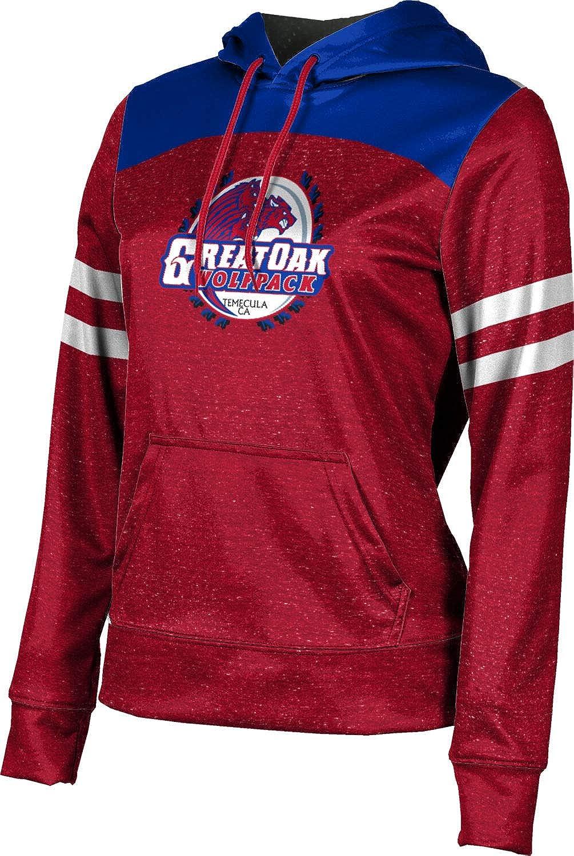 ProSphere Great Oak High School Girls' Pullover Hoodie, School Spirit Sweatshirt (Gameday)