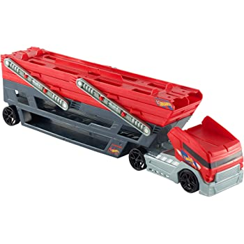 Hot Wheels Mega Hauler Rig, Multi Color