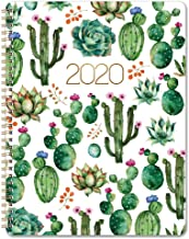 Planner 2020 – Weekly 2020 Planner with Flexible Cover, Jan 2020 – Dec 2020,..