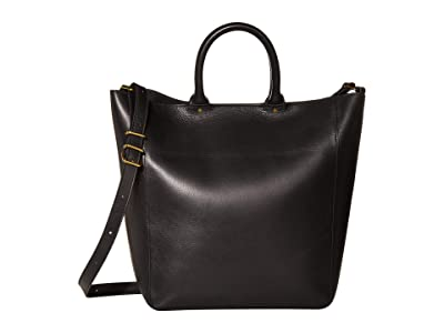 Madewell Abroad Tote (True Black) Handbags
