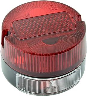 Rücklicht komplett rund, klein für Simson S50, MZ TS, mit E Prüfzeichen und KZB