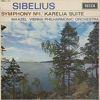 シベリウス Sibelius 交響曲 Symphony 1番Op.39 組曲「カレリア」Op.11 DECCA SXL 6084 UK ED1 Original