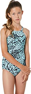 Seafolly Girls' High Neck Tank One Piece Swimsuit