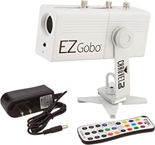 CHAUVET DJ EZGOBO Battery-Powered LED Gobo Projector w/Manual Zoom DJ Effect Light